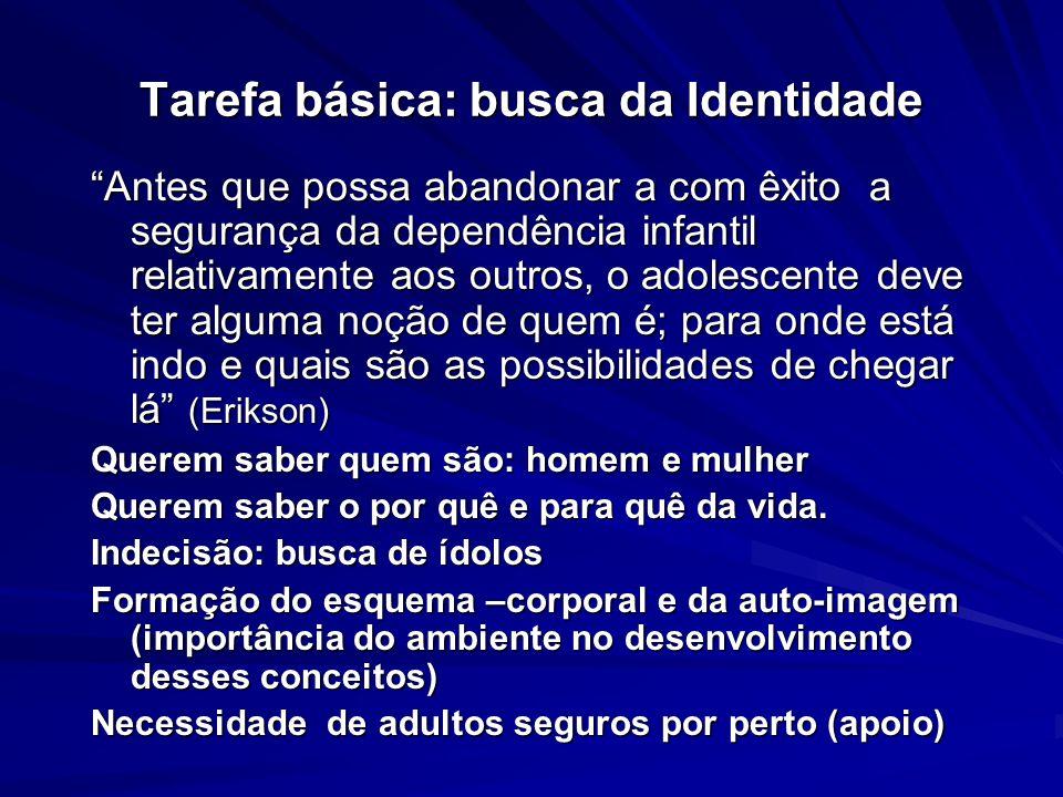 Tarefa básica: busca da Identidade