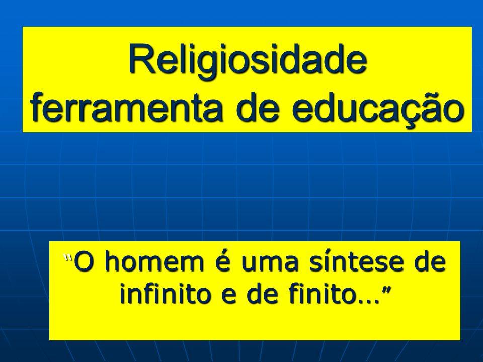 Religiosidade ferramenta de educação