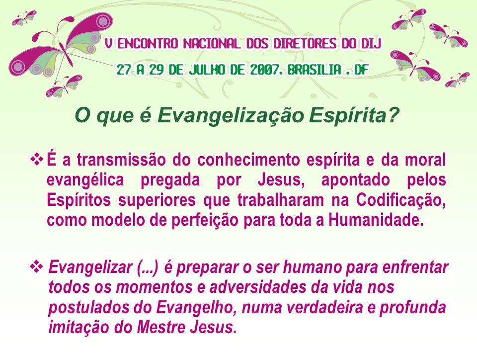O que é Evangelização Espírita
