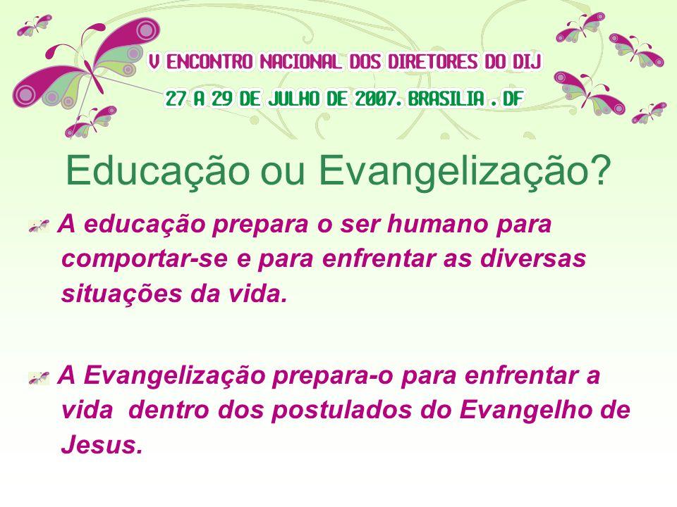 Educação ou Evangelização