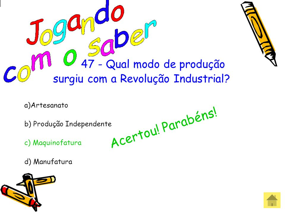 surgiu com a Revolução Industrial