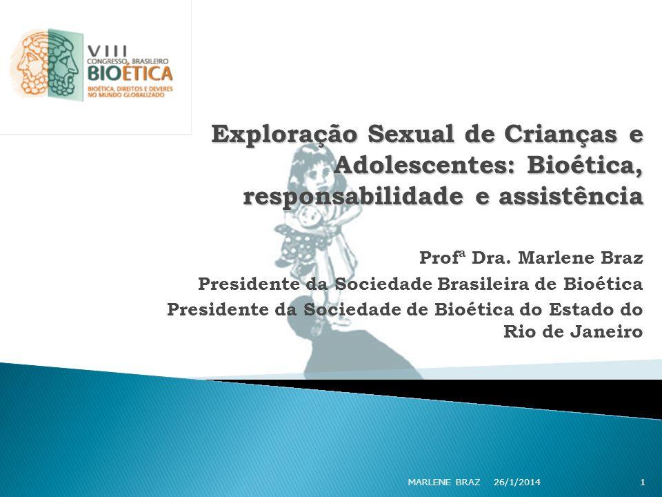 Exploração Sexual de Crianças e Adolescentes: Bioética, responsabilidade e assistência