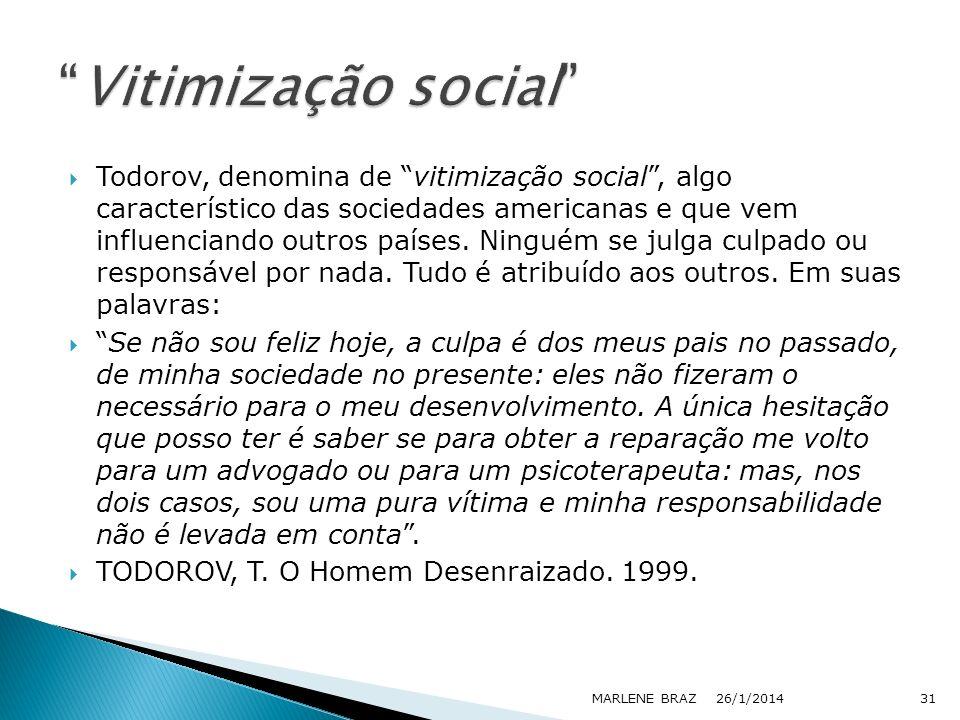 Vitimização social