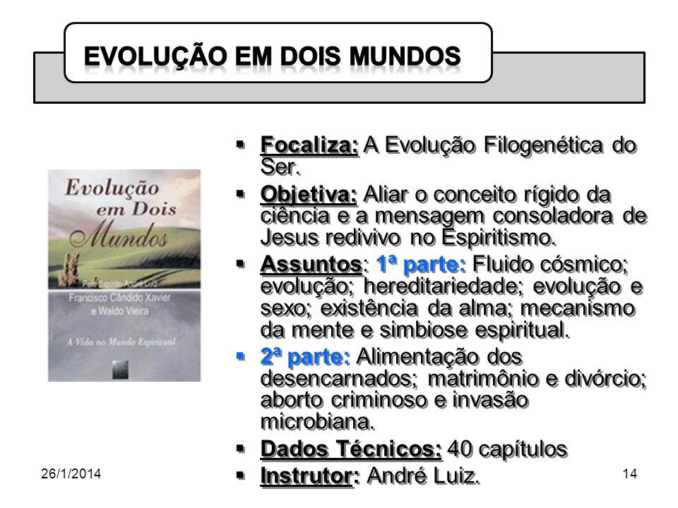 Focaliza: A Evolução Filogenética do Ser.