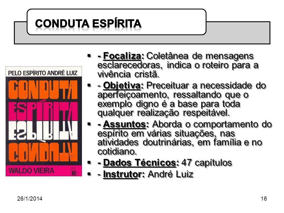 - Dados Técnicos: 47 capítulos - Instrutor: André Luiz
