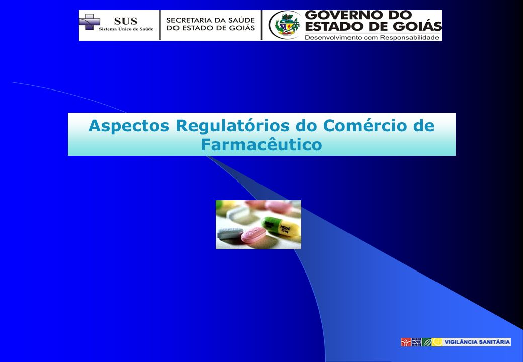 Aspectos Regulatórios do Comércio de Farmacêutico
