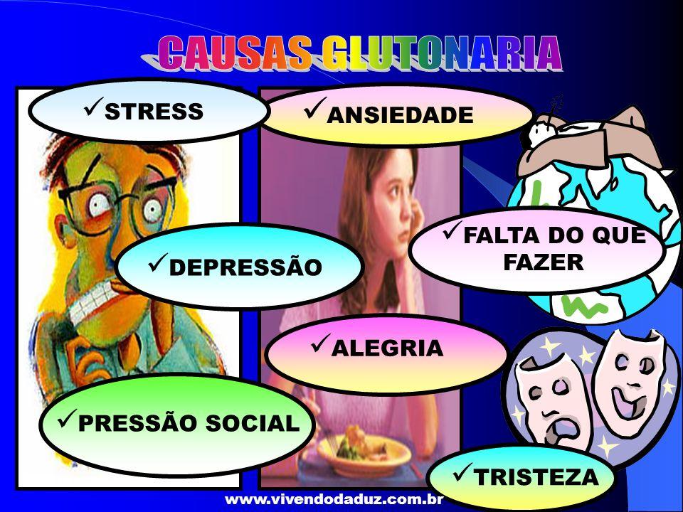 CAUSAS GLUTONARIA ANSIEDADE STRESS FALTA DO QUE FAZER DEPRESSÃO