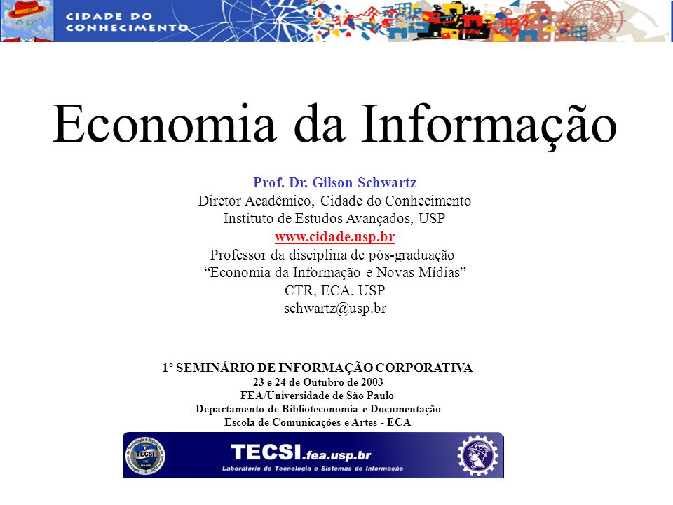 Economia da Informação