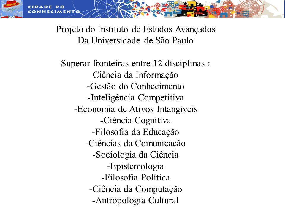 Projeto do Instituto de Estudos Avançados Da Universidade de São Paulo