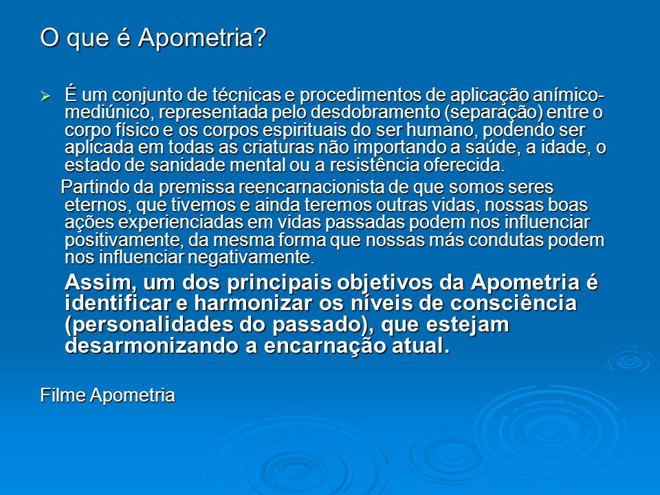 O que é Apometria