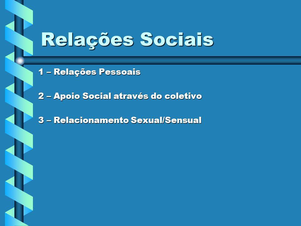 Relações Sociais 1 – Relações Pessoais