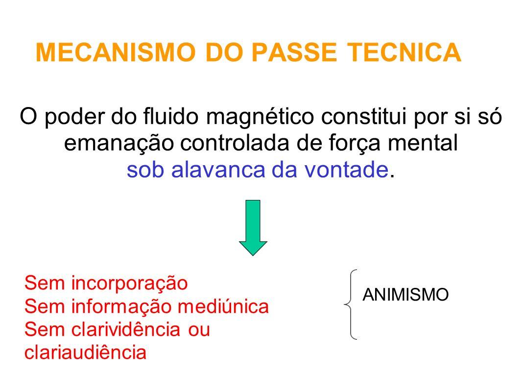MECANISMO DO PASSE TECNICA