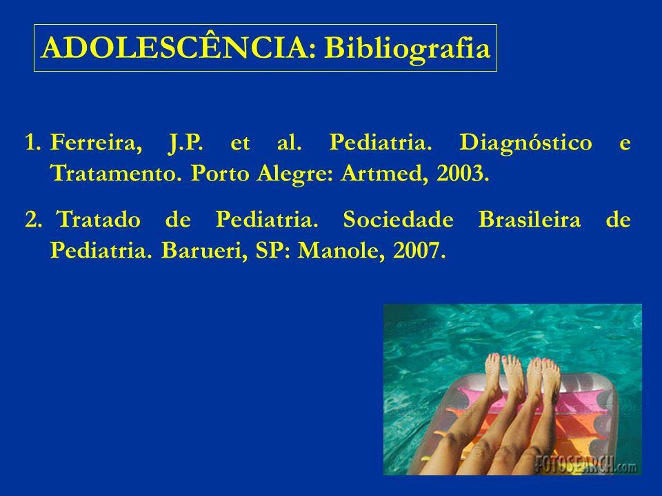 ADOLESCÊNCIA: Bibliografia