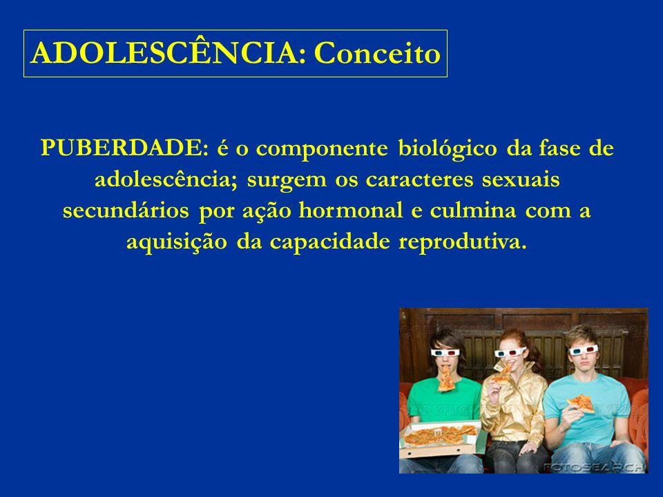 ADOLESCÊNCIA: Conceito