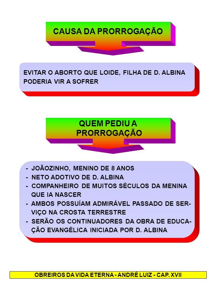 OBREIROS DA VIDA ETERNA - ANDRÉ LUIZ - CAP. XVII