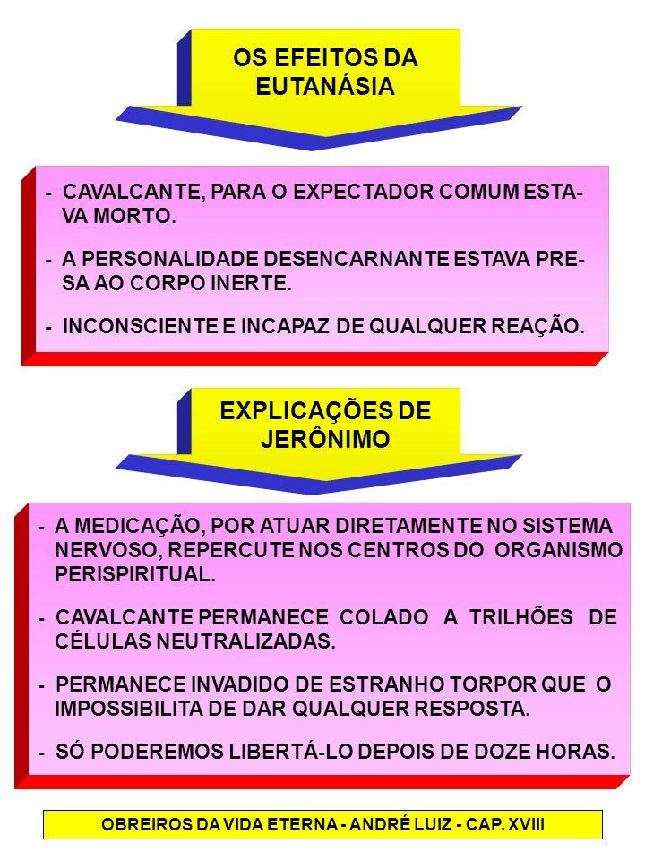 OBREIROS DA VIDA ETERNA - ANDRÉ LUIZ - CAP. XVIII