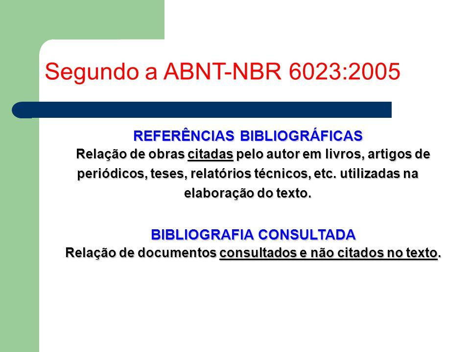 Referencias bibliograficas artigo