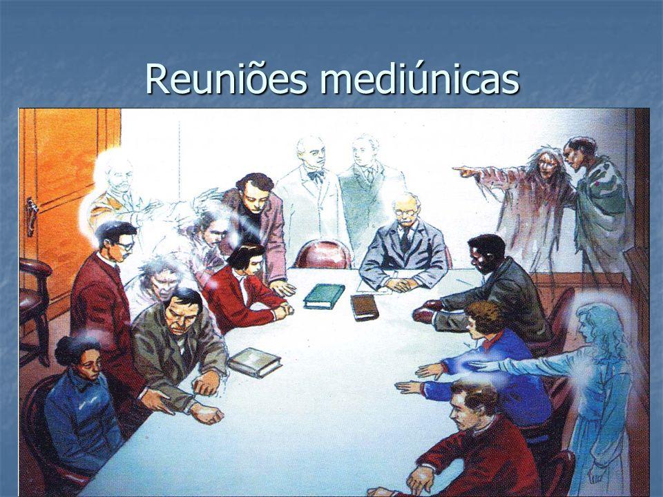 Reuniões mediúnicas