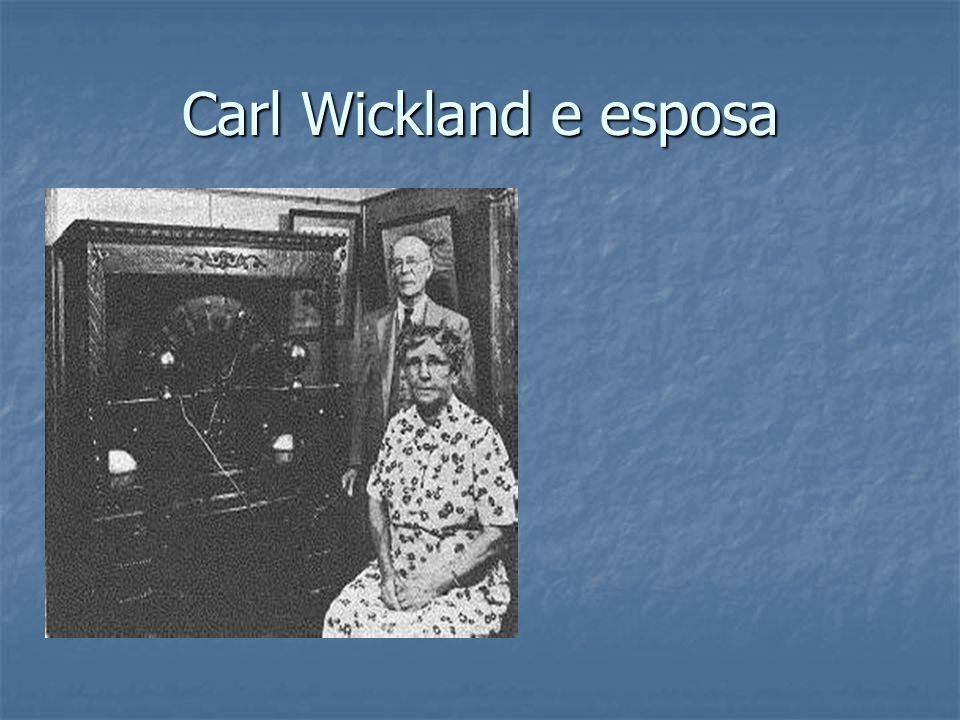 Carl Wickland e esposa