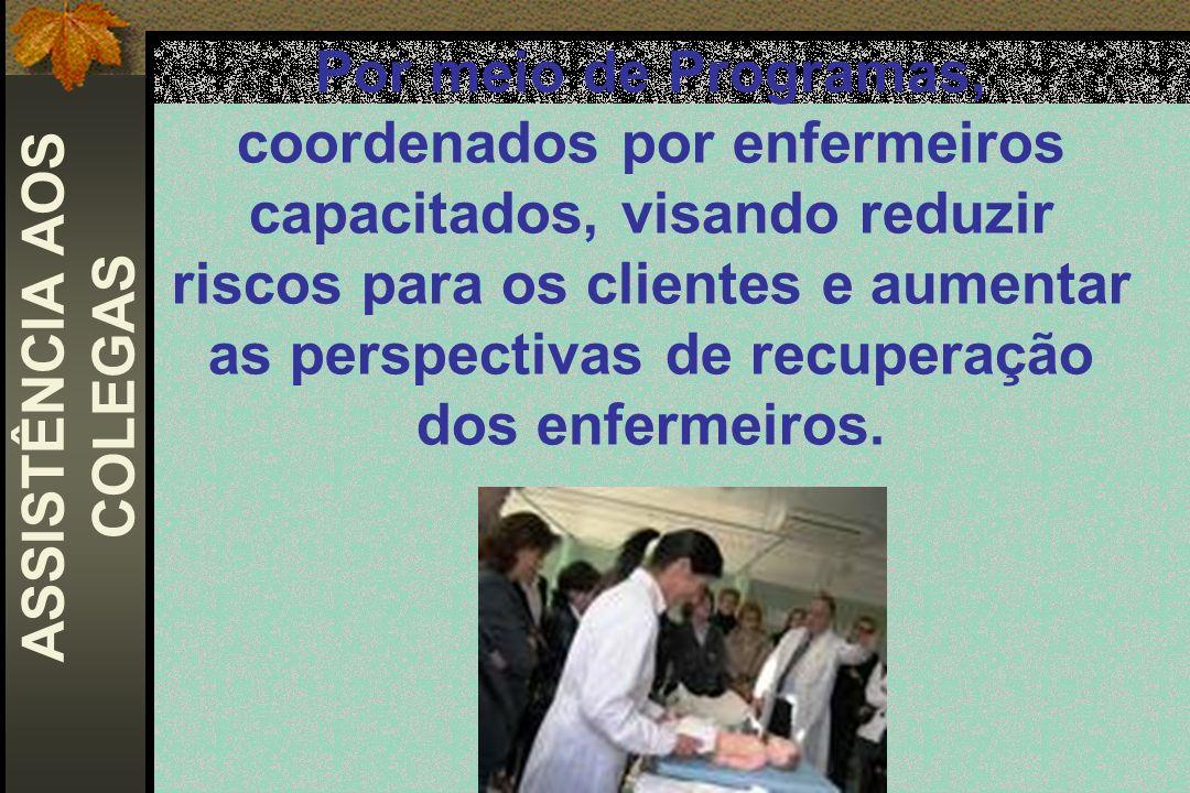 ASSISTÊNCIA AOS COLEGAS