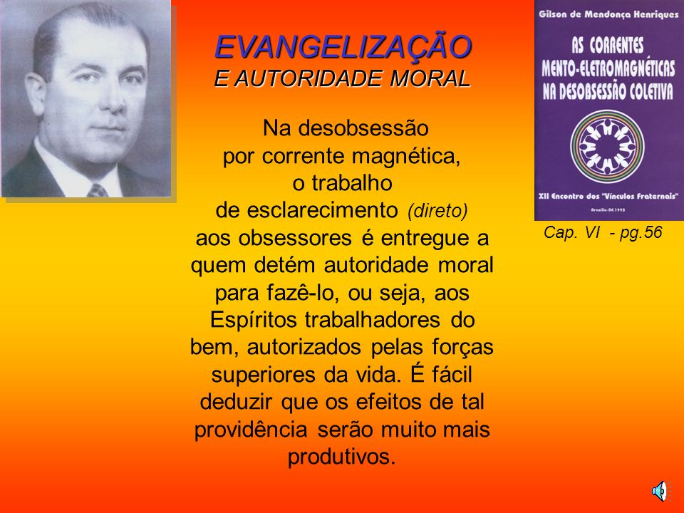 EVANGELIZAÇÃO E AUTORIDADE MORAL