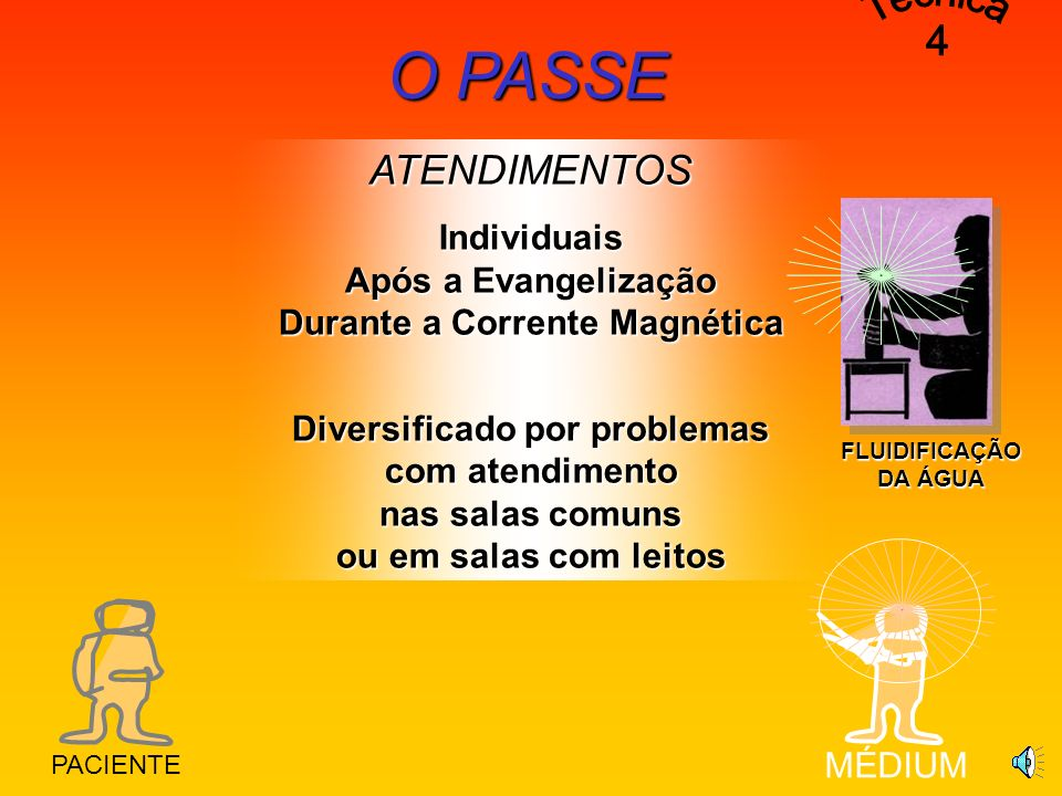 Individuais Após a Evangelização Durante a Corrente Magnética