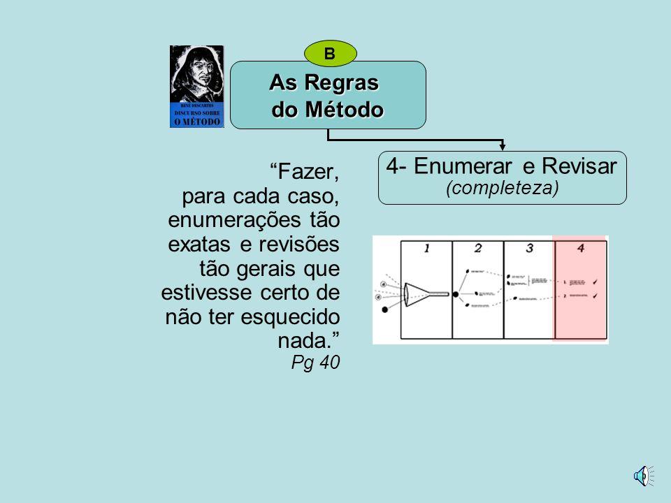 4- Enumerar e Revisar As Regras do Método