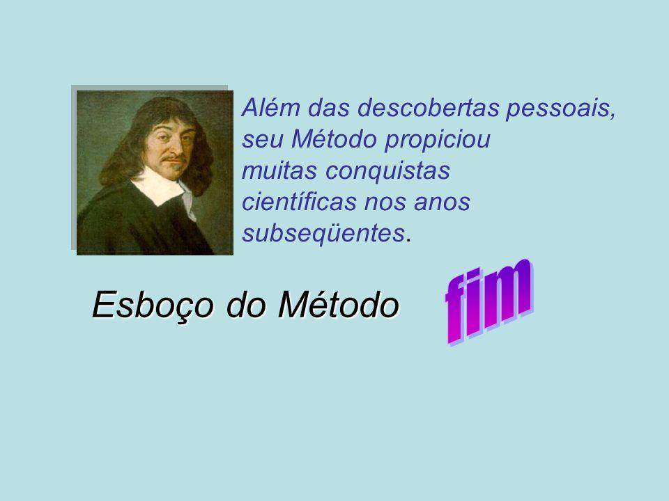 Além das descobertas pessoais, seu Método propiciou muitas conquistas científicas nos anos subseqüentes.