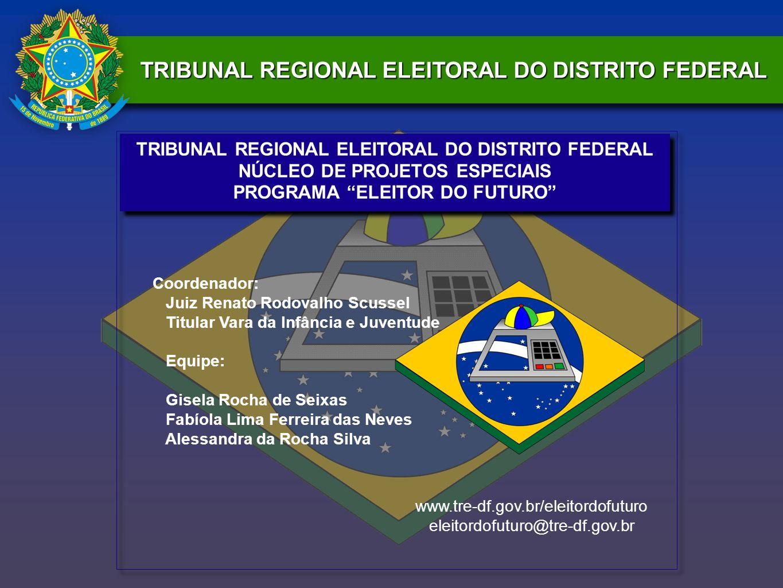 TRIBUNAL REGIONAL ELEITORAL DO DISTRITO FEDERAL