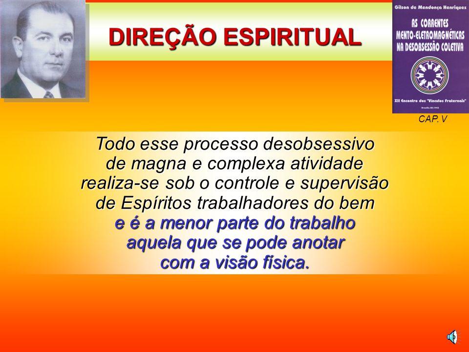 DIREÇÃO ESPIRITUALCAP. V.
