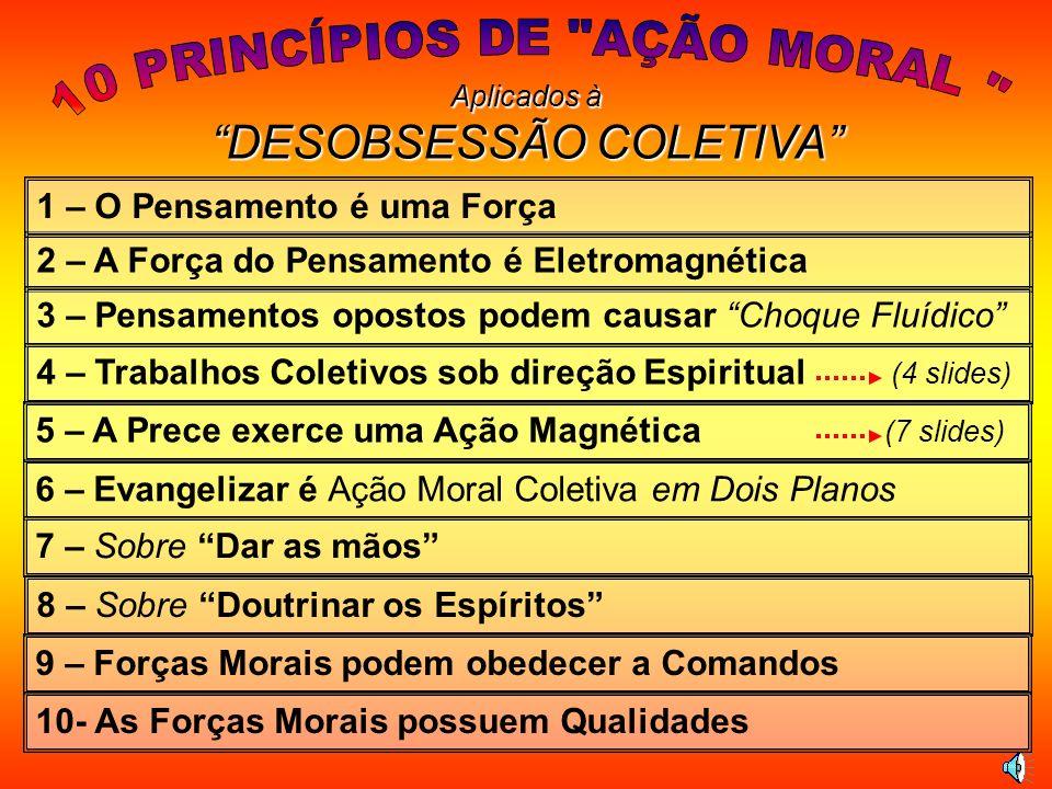 10 PRINCÍPIOS DE AÇÃO MORAL