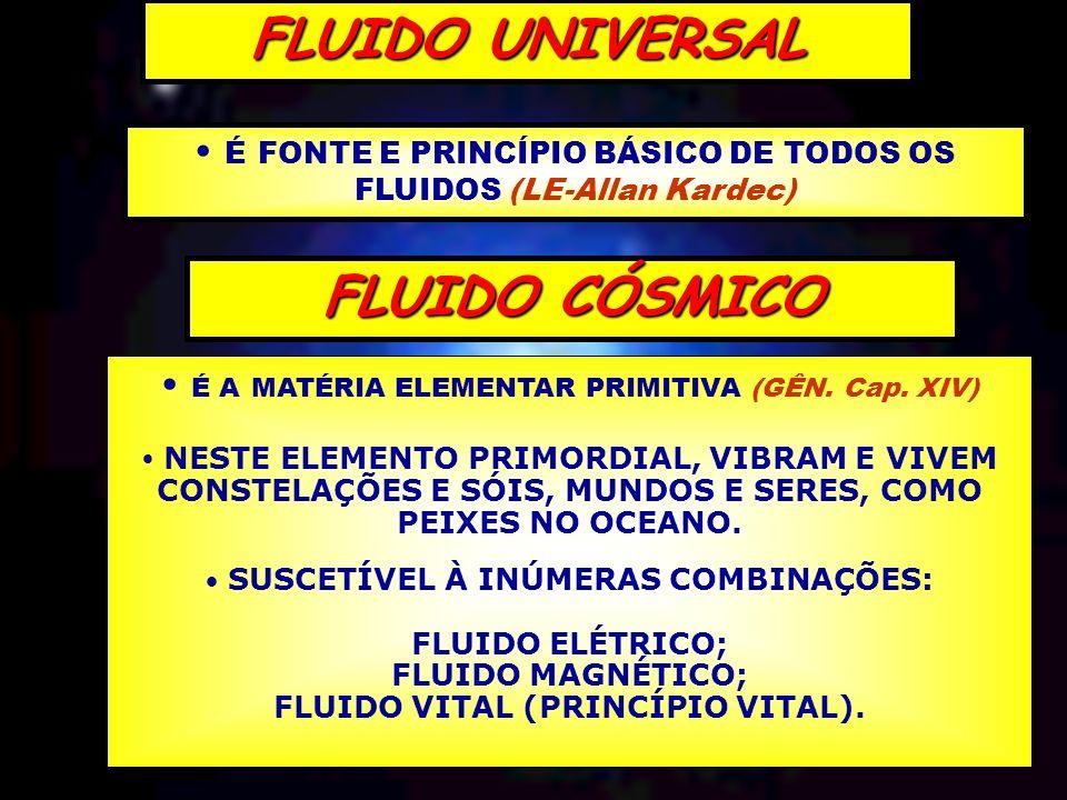 FLUIDO VITAL (PRINCÍPIO VITAL).
