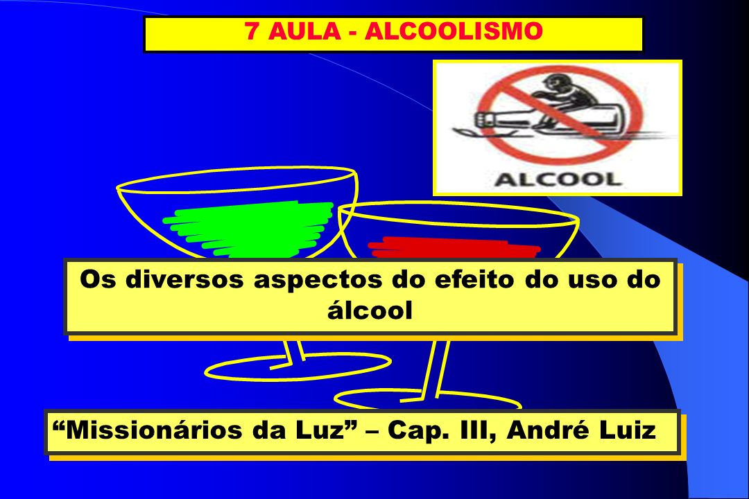 Os diversos aspectos do efeito do uso do álcool