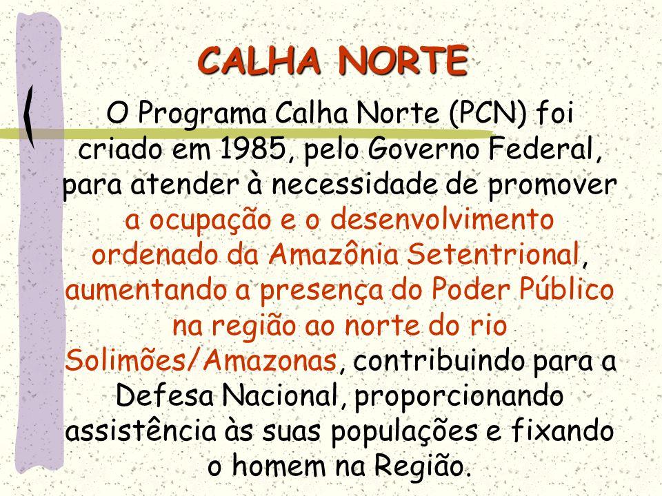 CALHA NORTE