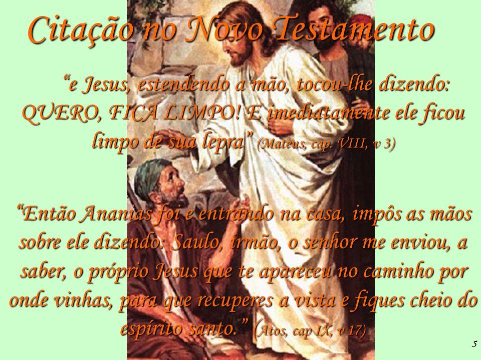 Citação no Novo Testamento
