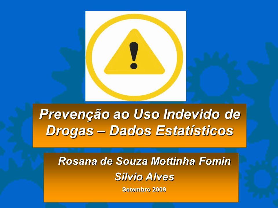 Prevenção ao Uso Indevido de Drogas – Dados Estatísticos