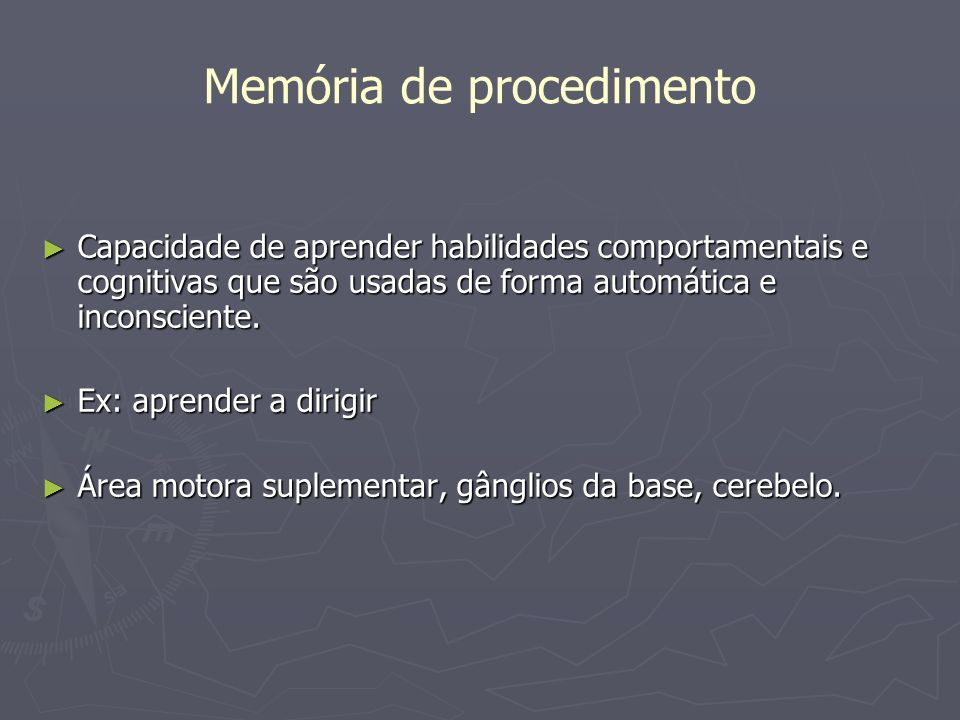 Memória de procedimento