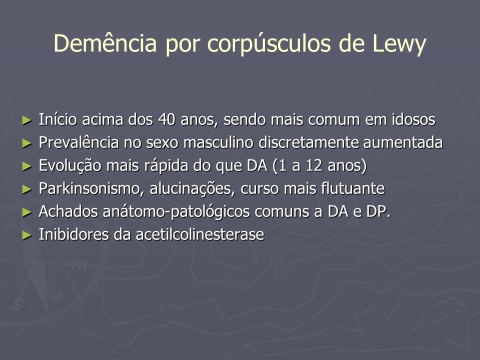 Demência por corpúsculos de Lewy