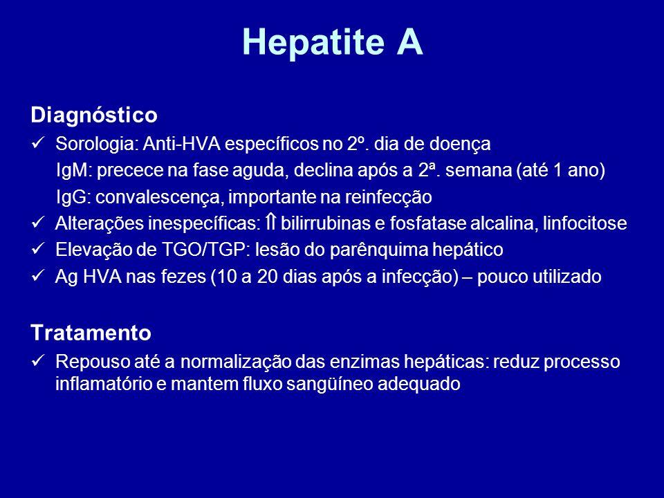 Hepatite A Diagnóstico Tratamento