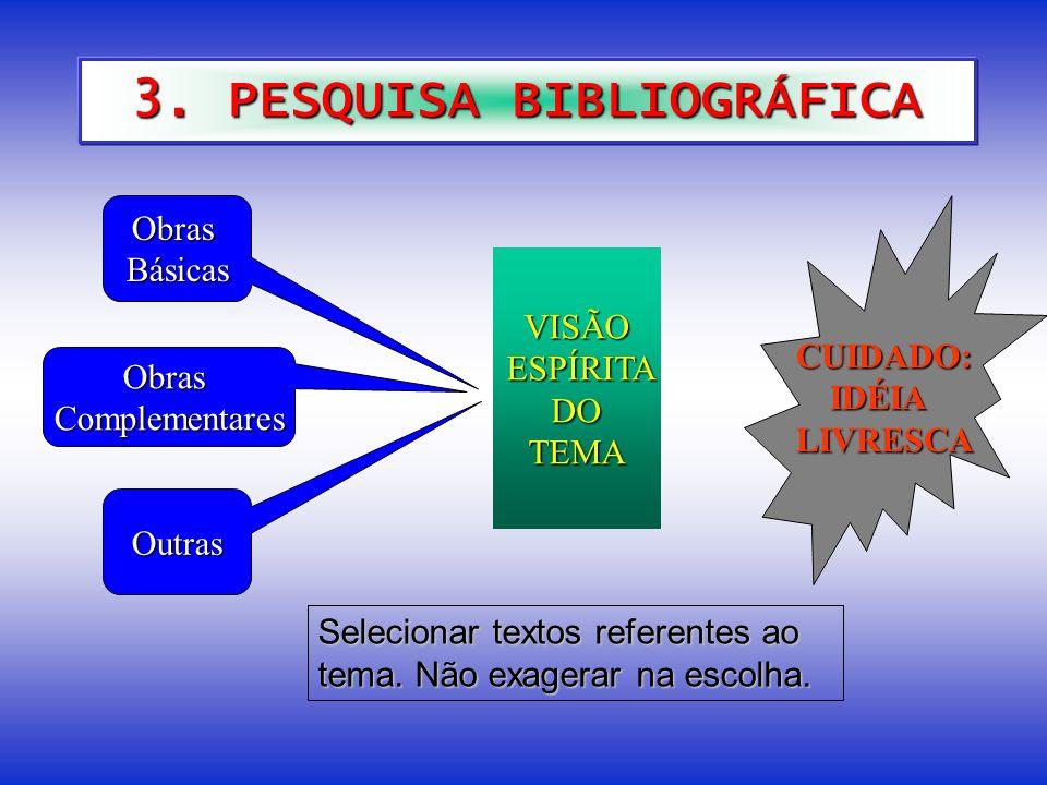 3. PESQUISA BIBLIOGRÁFICA