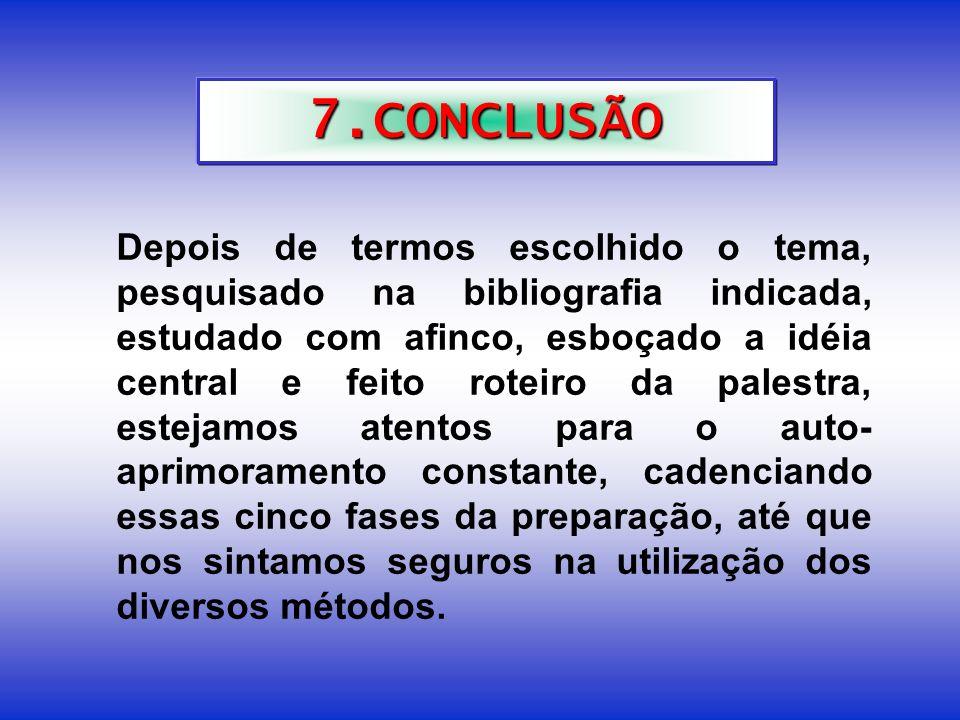 7.CONCLUSÃO