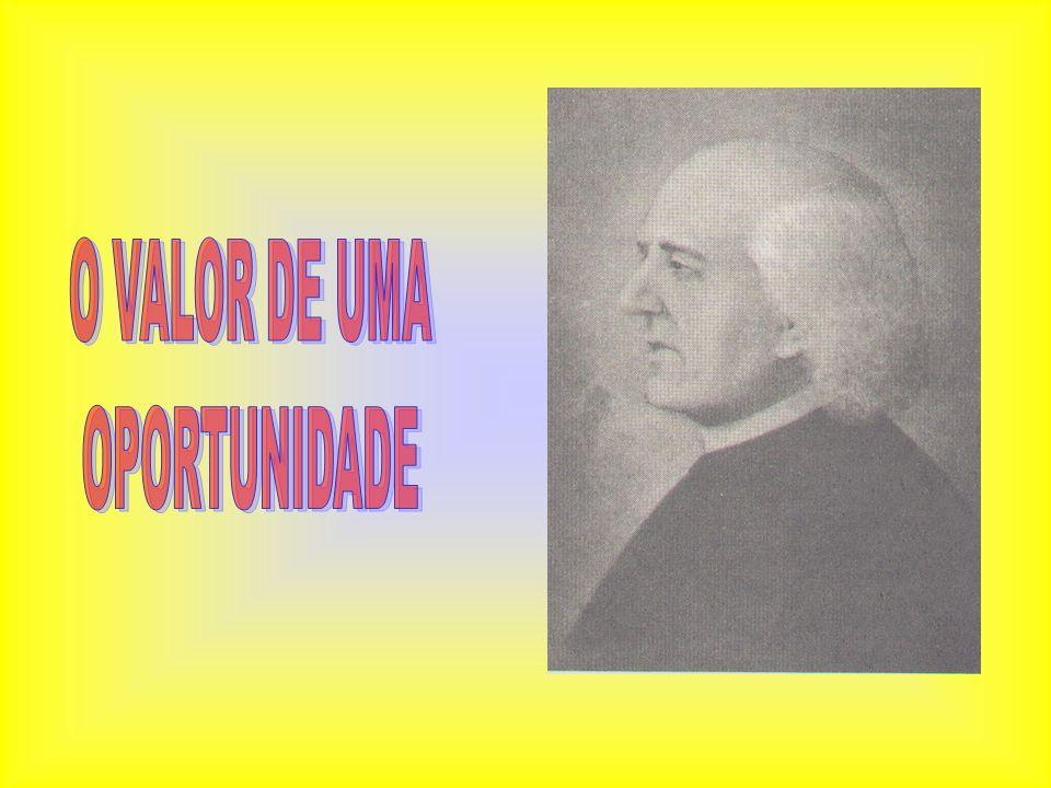 O VALOR DE UMA OPORTUNIDADE