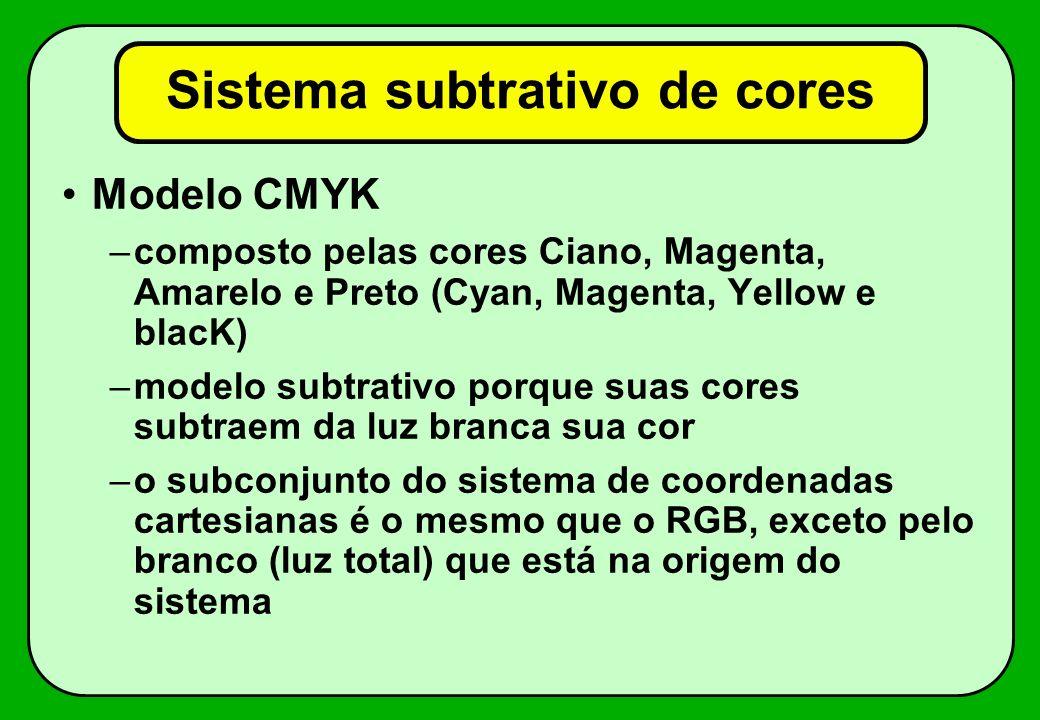 Sistema subtrativo de cores
