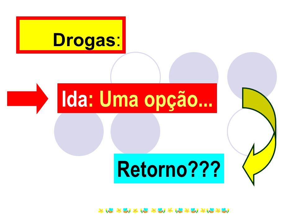 Drogas: Ida: Uma opção... Retorno