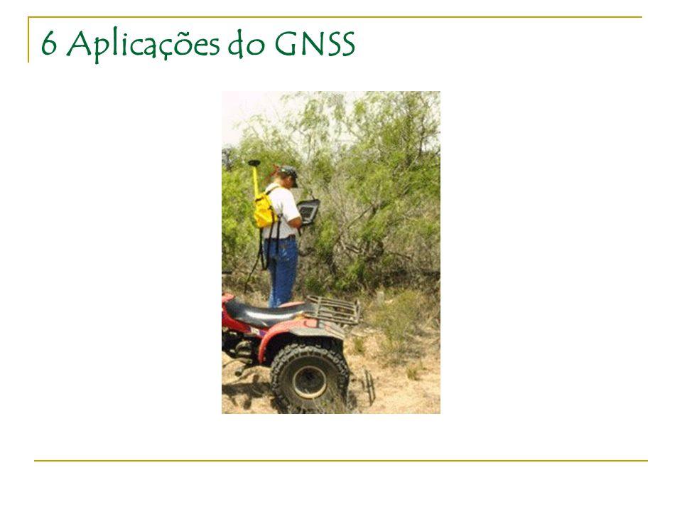 6 Aplicações do GNSS