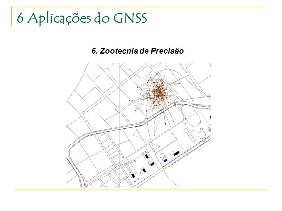 6 Aplicações do GNSS 6. Zootecnia de Precisão