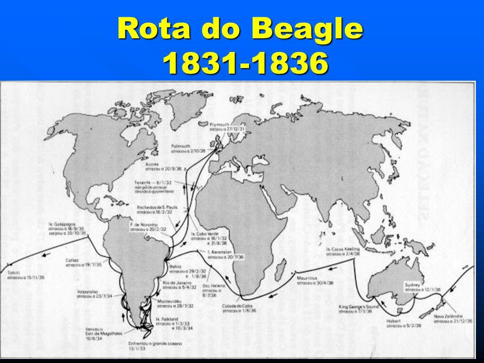 Rota do Beagle 1831-1836