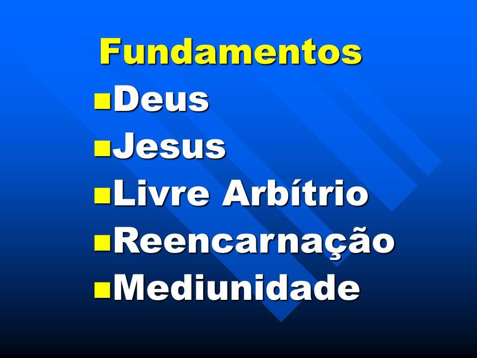 Fundamentos Deus Jesus Livre Arbítrio Reencarnação Mediunidade
