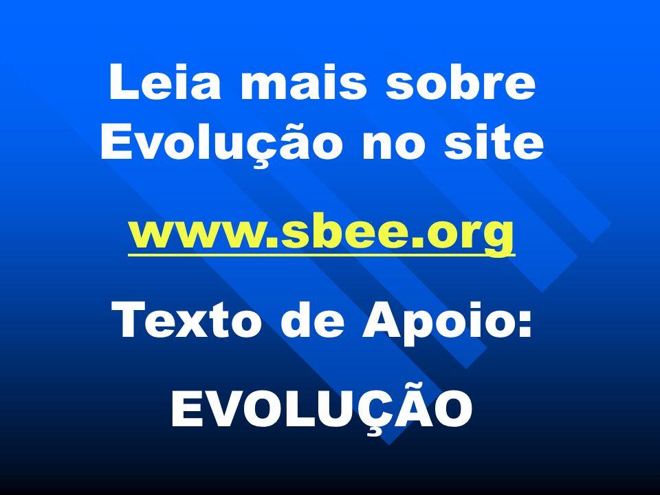Leia mais sobre Evolução no site