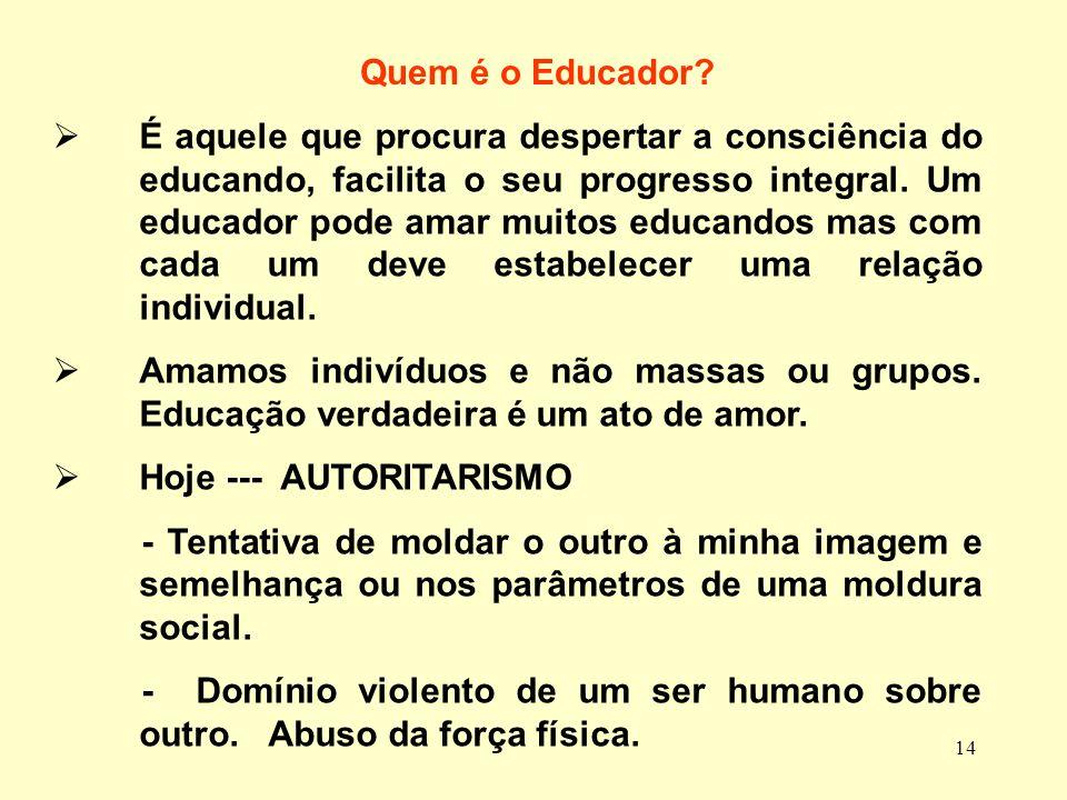 Quem é o Educador